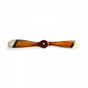 Small Propeller Black & Ivory
