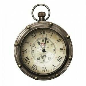 Porthole Eye of Time Pocket Watch