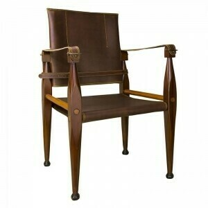 Campaign Bridle Leather Chair