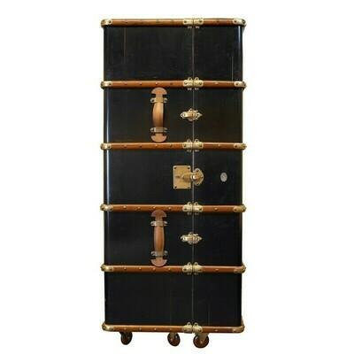 The Stateroom Bar Cabinet - Black