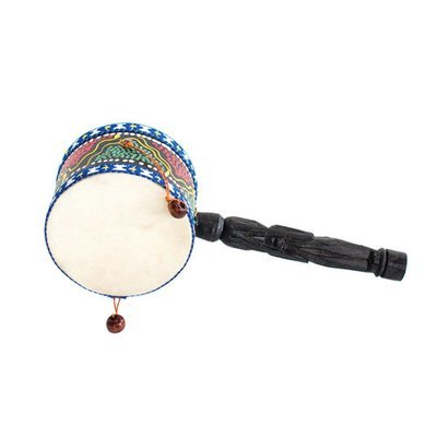Ontong double drum with handle