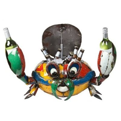 Recycled Conrad the Crab Recycled Beverage Cooler