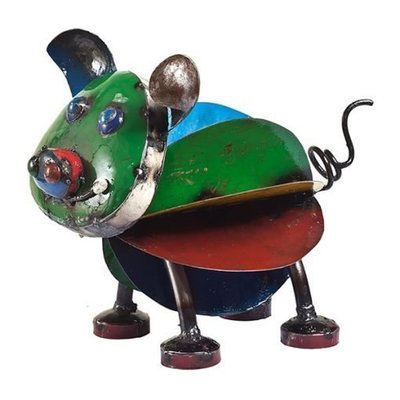Pete the Pig Recycled Sculpture