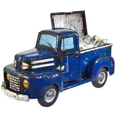 Pick Up Truck  Recycled Cooler