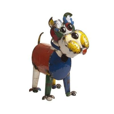Ralph The Dog Recycled Sculpture