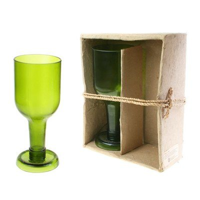 Fair Trade Recycled Bottle Glasses