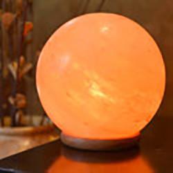 Himalayan Salt Sphere Lamp 14-15cm