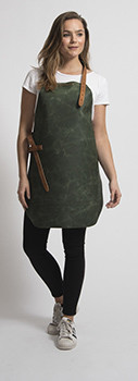 Stalwart Quality Leather Lady Apron