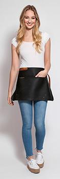 Stalwart Quality Leather Waiter Apron