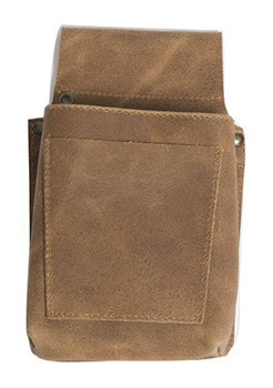 Stalwart Quality Leather Pouch for Apron