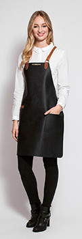 Stalwart Quality Leather Backstrap Apron for Ladies