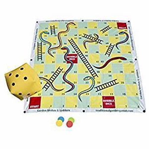 Garden Snakes and Ladders