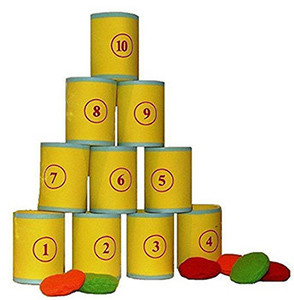 Tin Can Alley Fairground Target Game