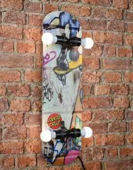 Skateboard with Electric Fitting