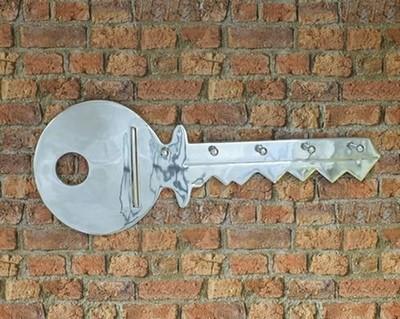 Aluminium Key Wall Hanging