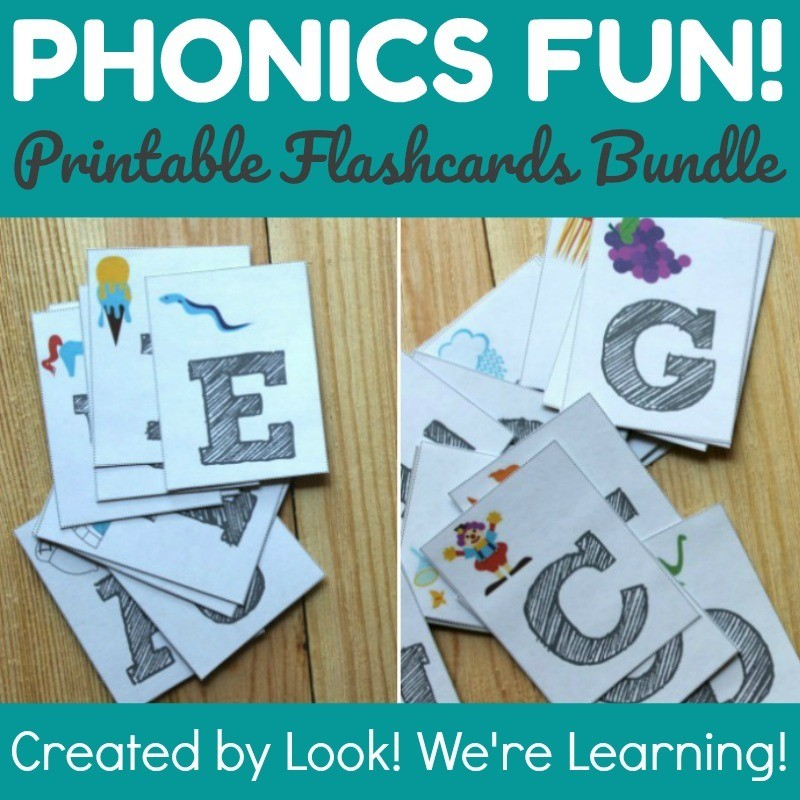 Phonics Fun: Phonics Flashcard Bundle