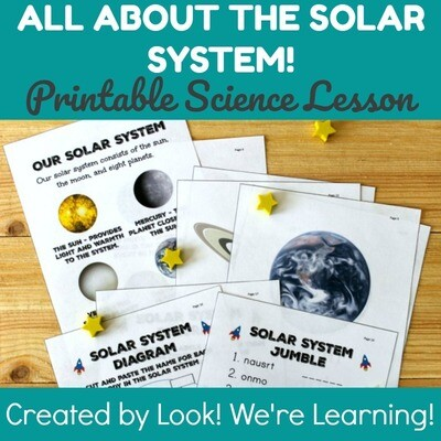 All About the Solar System Science Lesson