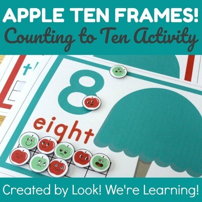 Apple Tree Counting Mats for 1-10