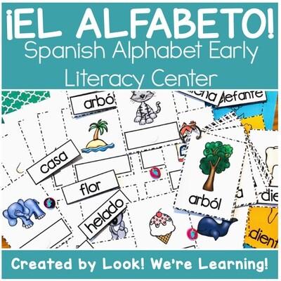 ¡El Alfabeto! Spanish Alphabet Literacy Center