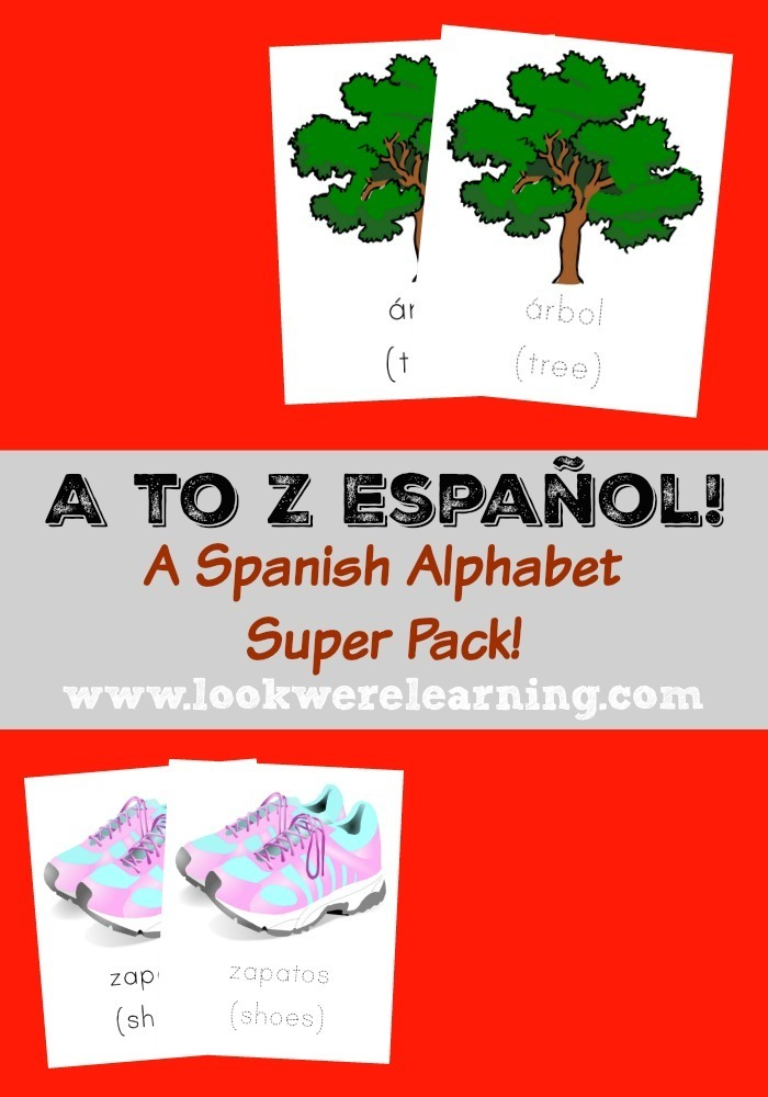 A to Z Español: A Spanish Alphabet Printable Pack