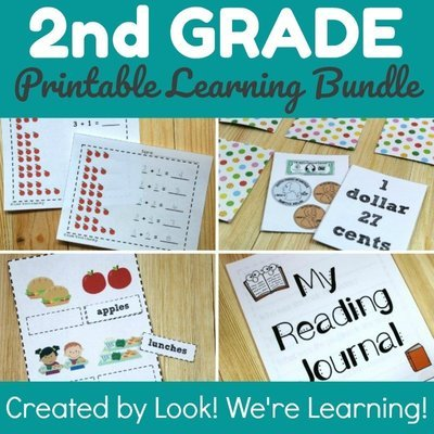 Second Grade Smarts: Learning Bundle