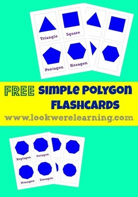 Simple Polygon Flashcards