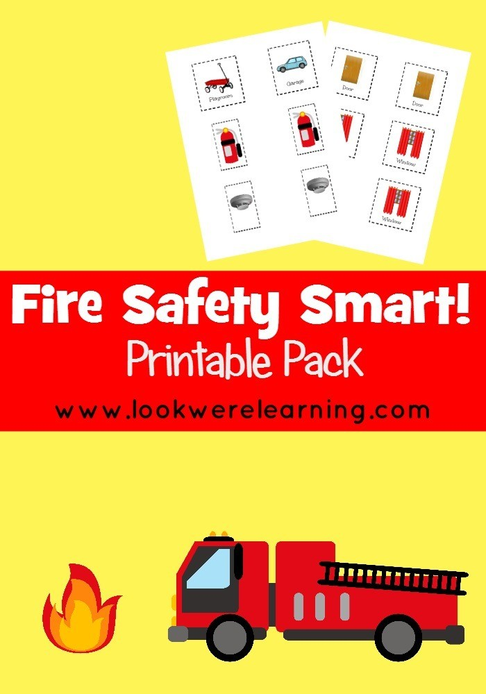 Fire Safety Smart! Printable Pack
