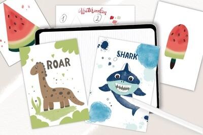 """Детский курс """"Рисуем на iPad"""". Цифровая иллюстрация для детей"""
