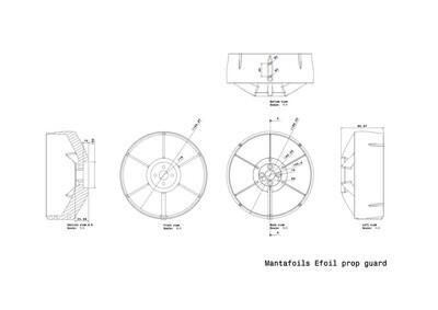 Volt efoil Propeller Schutz