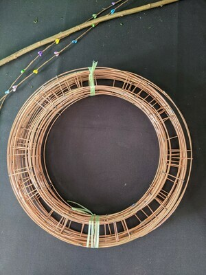 """Wire wreath rings 6""""-16"""" now in stock"""