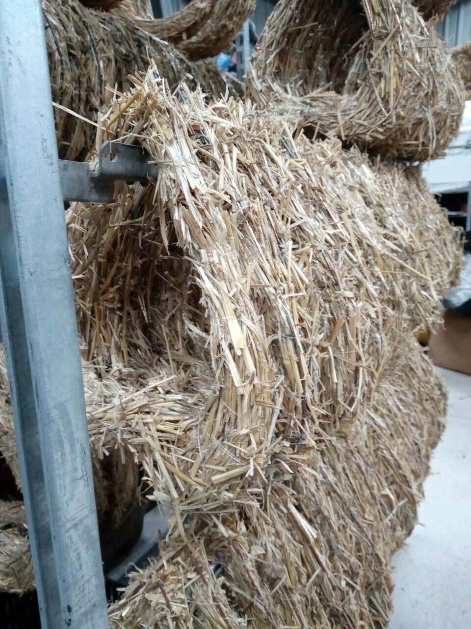 Locally handmade heart shaped straw bases