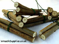 Willow sticks and twigs
