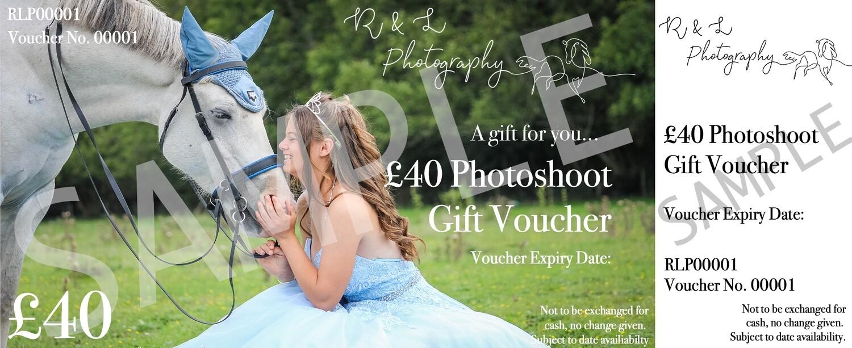 R & L Photoshoot Gift Voucher