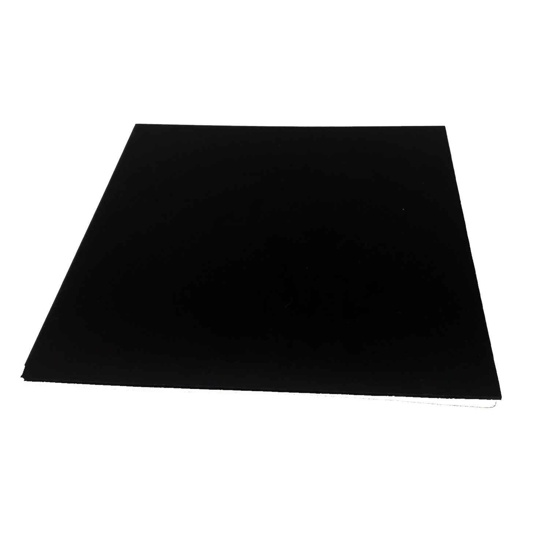 "Black Reflective Acrylic  12""x 12"""
