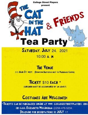 Cat in the Hat Tea Party