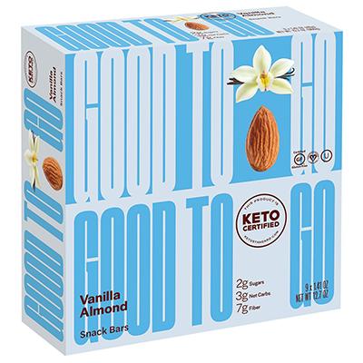 Good To Go - Soft Baked Bars - Vanilla Almond - 40g