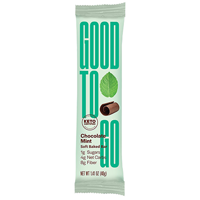 Good To Go - Soft Baked Bars - Chocolate Mint - 40g