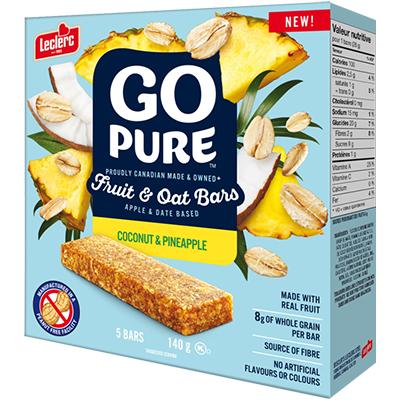 Go Pure - Fruit & Oat Bar - Coconut & Pineapple - 28g
