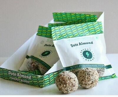 Energy Bombs - Energy Ball - Date Almond - 60g