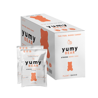 *NEW* - Yumy Bear - Fruity Gummy Bears - Strong Berry Kiwi - 50g