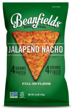 *NEW* - Beanfields - Bean Chips - Jalapeno Nacho - 42g