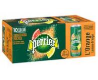 *NEW* - Perrier - Sparkling Water - Slim Can - Orange - 250mL