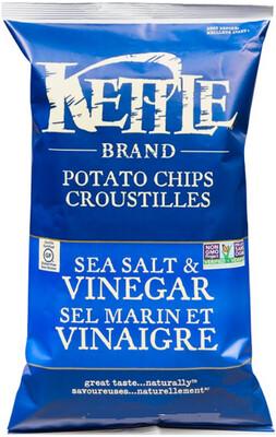 *NEW* - Kettle - Potato Chips - Sea Salt & Vinegar - 45g