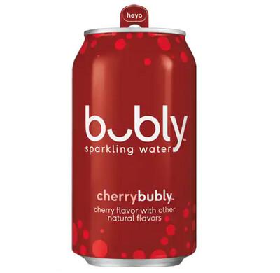 *NEW* - Bubly - Sparkling Beverage - Cherry - 355mL