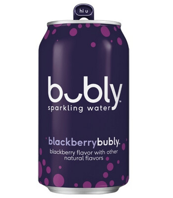 *NEW* - Bubly - Sparkling Beverage - Blackberry - 355mL
