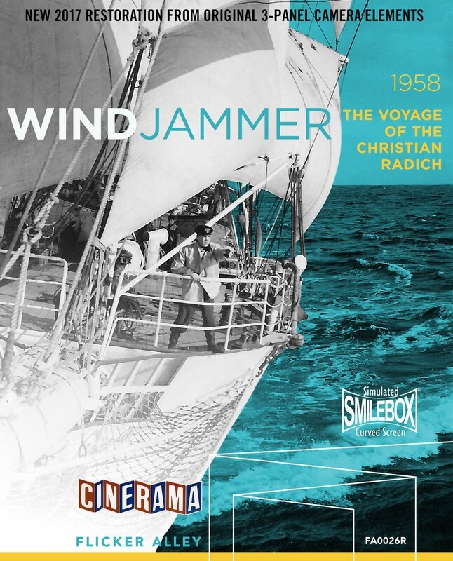 Windjammer: The Voyage of the Christian Radich - 2017 Authorized Restoration