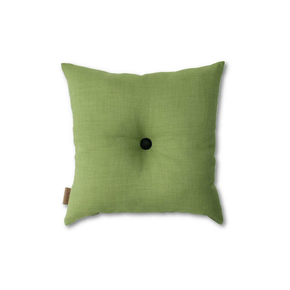 Grøn mini-pude med knap
