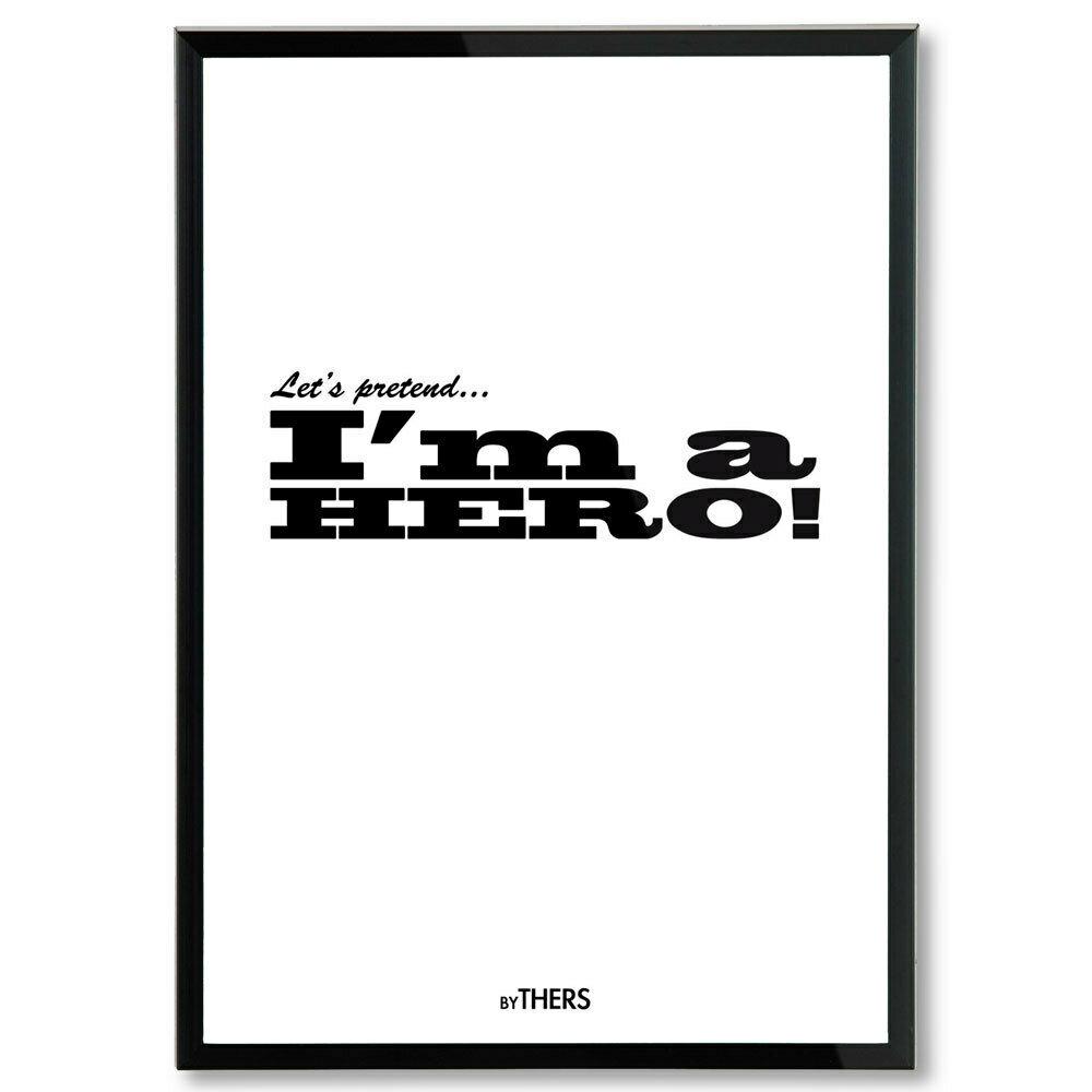 Hero (white), A4 - LAGERSALG