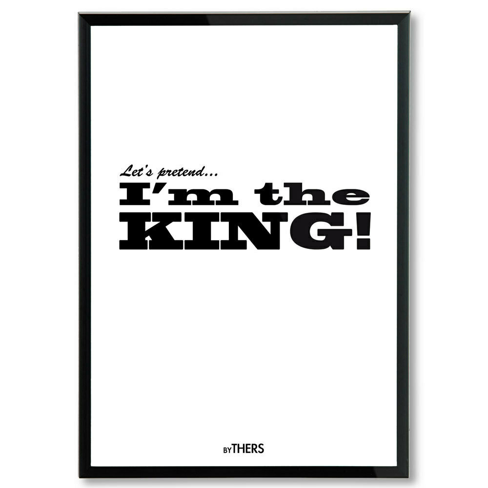 King (white), A3 - LAGERSALG