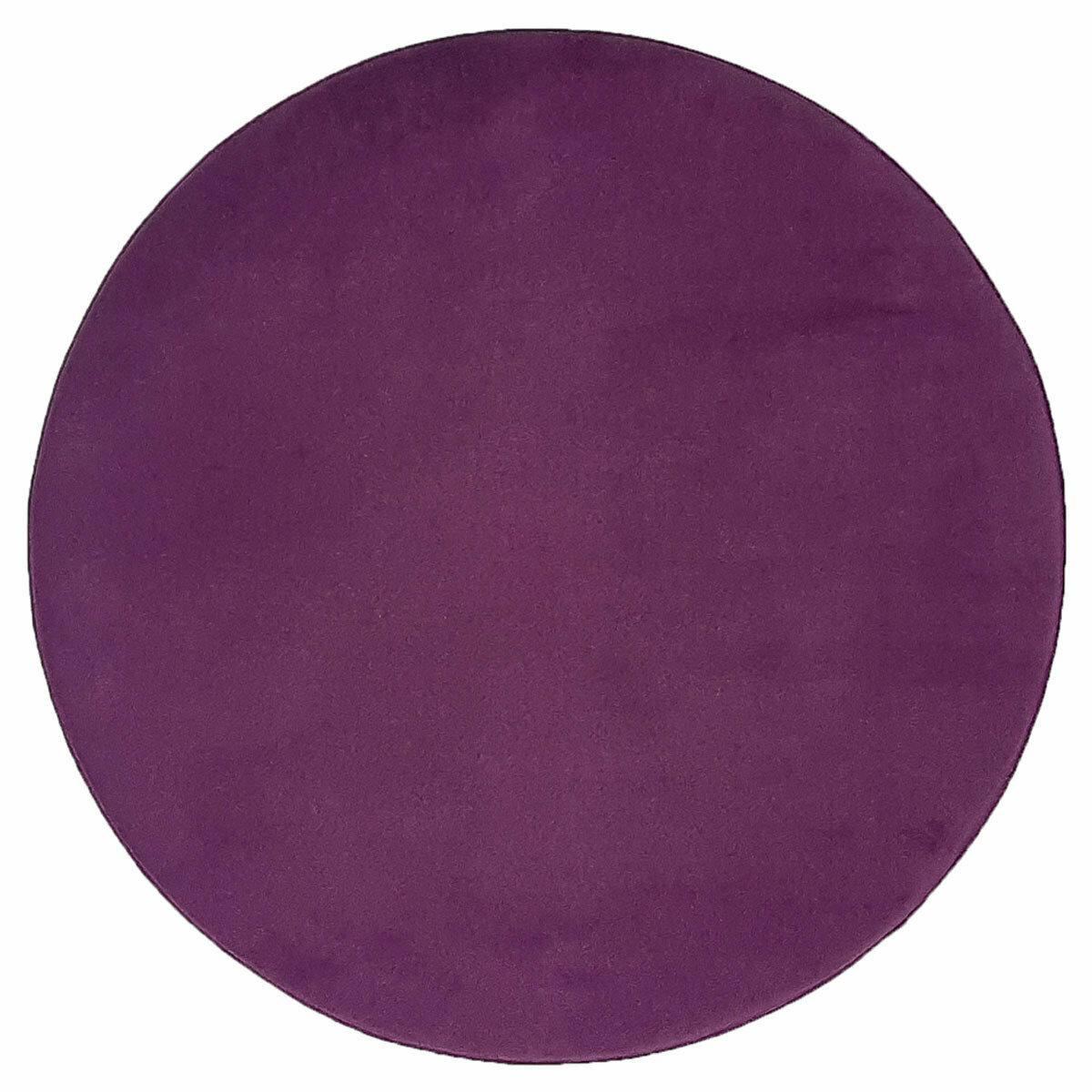 Plain obo top - Mørk blomme